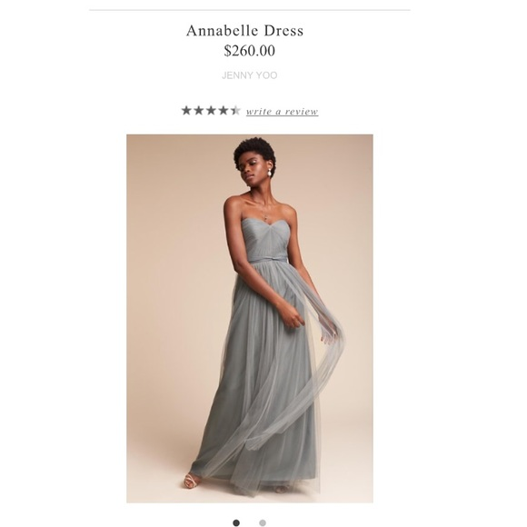 50906761908 Jenny Yoo Annabelle Dress Mayan Blue